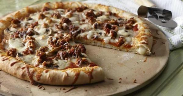 Croûte de pizza farcie | Bien Faire