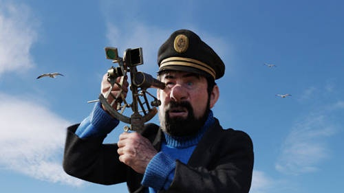 Captain Haddock Photo - 'The Adventures of Tintin'  Captain Haddock (Andy Serkis) in The Adventures of Tintin, from Paramount Pictures and Columbia Pictures in association with Hemisphere Media Capital.