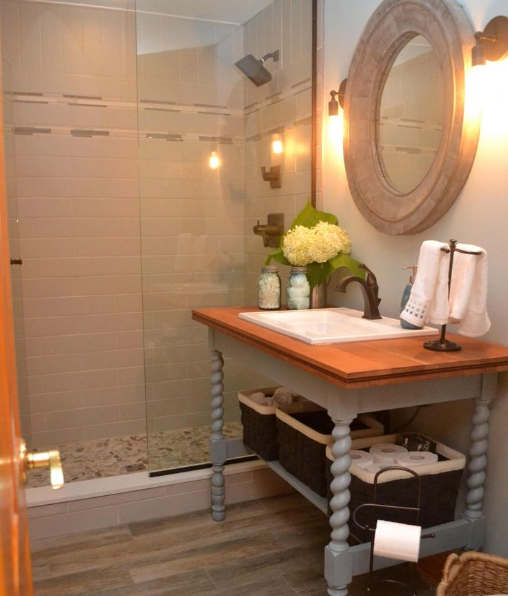 Small Bathrooms Cottage Style: 177 Best Cottage Bathroom Ideas Images On Pinterest