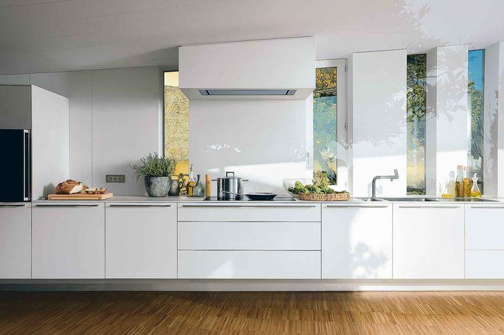 kuchnia wisząca biała
