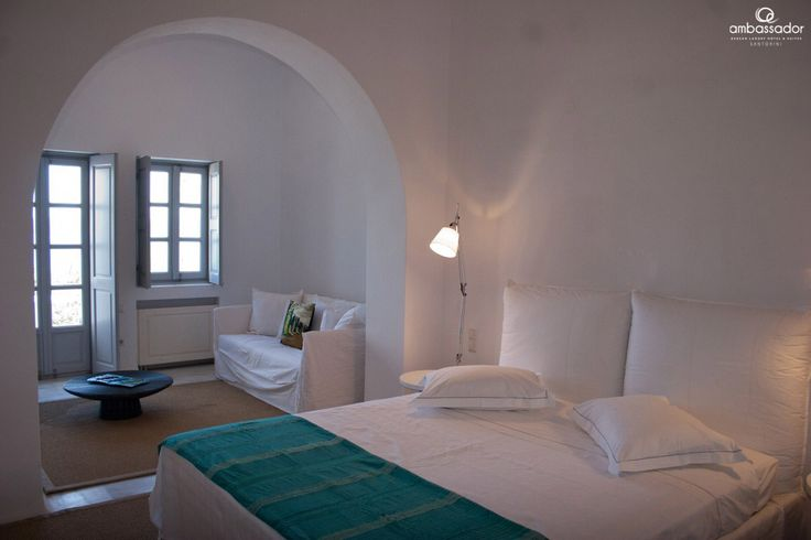 Unpretentious luxury and unparalleled comfort, a wonderful blend for top notch accommodation in Santorini! More at ambassadorhotelsantorini.com/