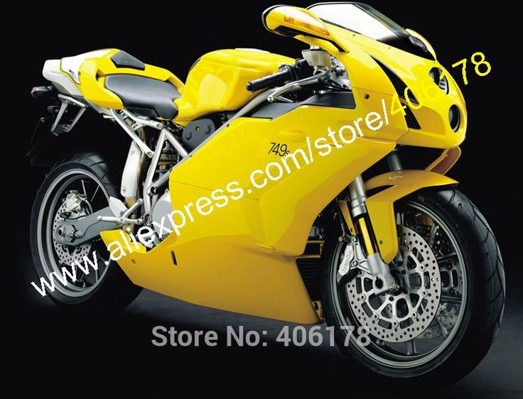 407.55$  Buy here - http://ali692.worldwells.pw/go.php?t=32602089824 - Hot Sales,Yellow White For Ducati Accessories 749 999 2003-2004 749-999 03-04 Aftermarket MotorbikeFairings (Injection molding)