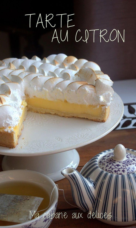 17 meilleures id es propos de tarte de meringue au citron sur pinterest tarte et g teau de - Recette tarte au citron sans meringue ...