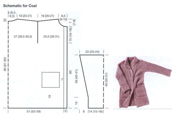 Mohair coat FREE pattern (2/2) (hva)