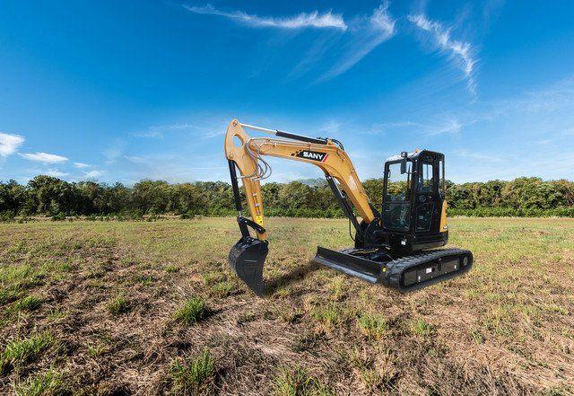 SANY announces bold new warranty, backhoe loader, excavators at #CONEXPO #construction #compact