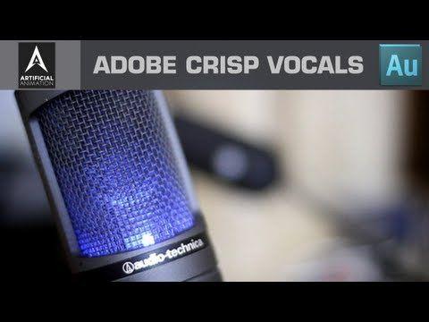 ▶ Creating crisp Vocals - Adobe Audition CS6 Vocal Editing Tutorial - YouTube