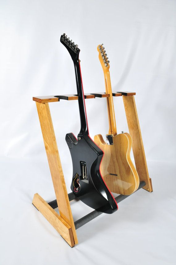 Handcrafted Wooden Guitar Stand  Display up to 5 by AllwoodStands, $75.00