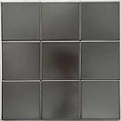 @Overstock - These glazed porcelain tiles from Somertile are great for your kitchen, bath or backsplash. This wall tile comes in tones of metal.http://www.overstock.com/Home-Garden/SomerTile-4x4-in-Mercury-Metal-Porcelain-Tile-Case-of-100/4801551/product.html?CID=214117 $144.99