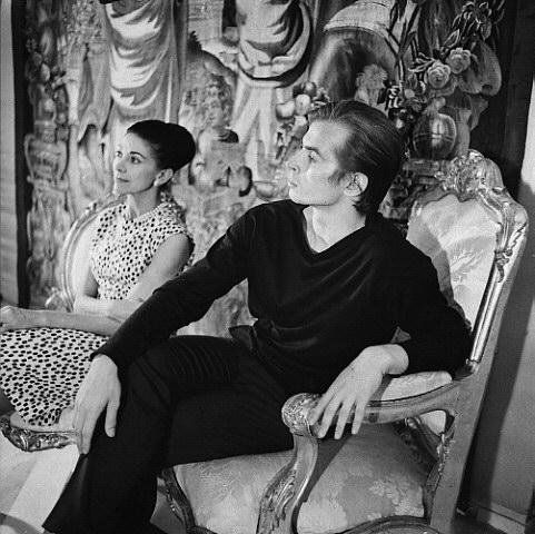 Fascinating Historical Picture of Margot Fonteyn with Rudolf Nureyev in 1964