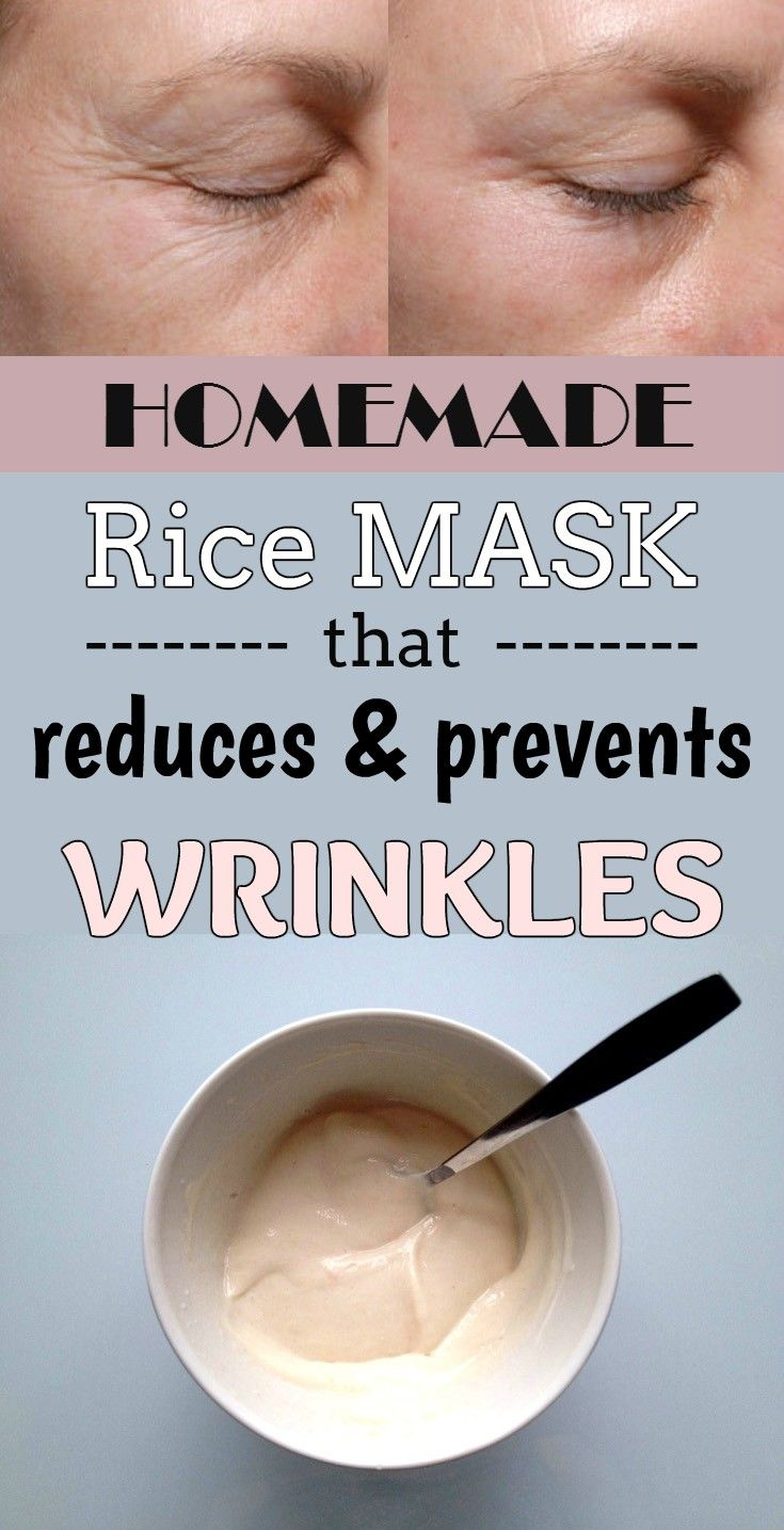 Homemade rice mask that reduces and prevents wrinkles - 101BeautyTips.org