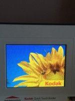 Cornice digitale da 5 pollici KODAK EASYSHARE P520 LCD per scheda memoria o USB.