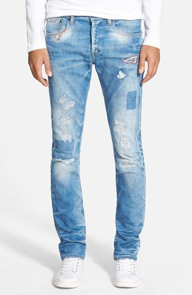 PRPS 'Demon - Bellatrix' Slim Straight Leg Jeans (Indigo) available at #Nordstrom