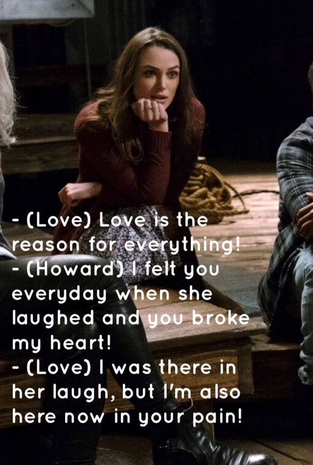 Collateral beauty quote, I felt you everyday when she laughed.