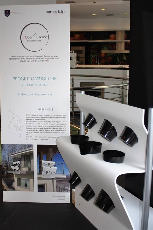 GREEN HOLS by Erika Volonnino, Emi Pierangeli  Winner Students #indooroutdoorcontest #modula #unicam