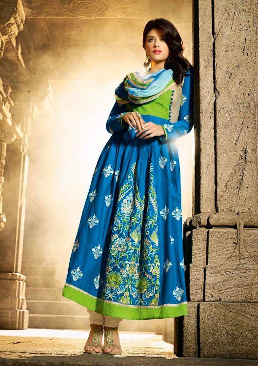 Anarkali Suits Vedik Suit - Vedik85 - Shopping on Junction