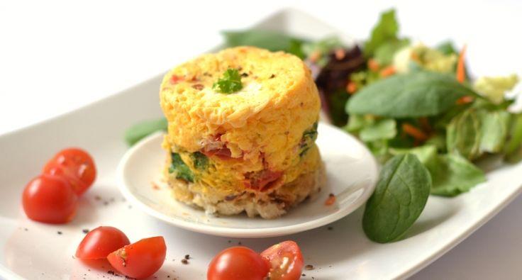 Bögrés-mikrós tojásfelfújt recept