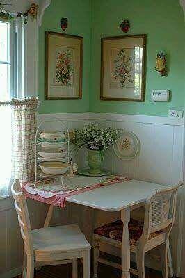Cozy vintage kitchen book Chubby Bunny Cottage