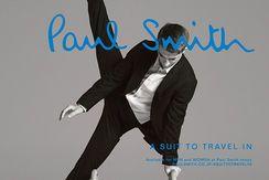 秋のビジネスマンにイチオシの、ポール・スミス「トラベル・スーツ」