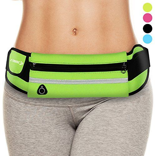 Waist Pack Best Running Belt Fanny Pouch Waistband Holder Case Green Best Christmas Presents Gifts Gift Ideas 2017 Present Cool Stocking Stuffers Stuffer Secret Santa For Girls Women Sports Men Boys * Check out the image by visiting the link.-It is an affiliate link to Amazon. #ChristmasGift
