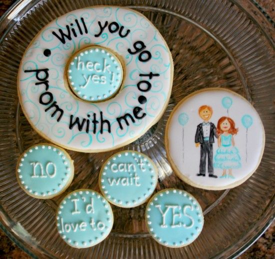 20 creative ways to ask someone out. Great ideas for teenagers! Sooo cute: Cookies, Prom Proposal, Prom Ideas, Promposal, Dance, Prom Homecoming, Homecoming Prom