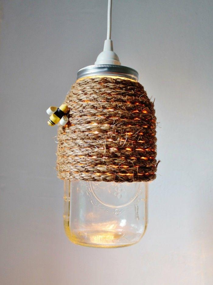 die besten 25 seil lampe ideen auf pinterest cord stilvolle heimdeko und au enlampen. Black Bedroom Furniture Sets. Home Design Ideas