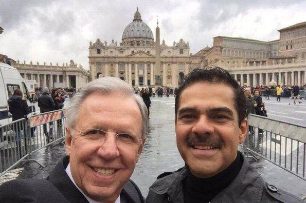 Captan a López Dóriga junto a Javier Alatorre, ¿Listo para integrarse a Azteca?