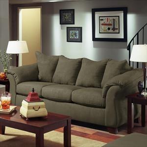 Nebraska Furniture Mart U2013 American Furniture Calcutta Stationary Sofa In  Olive