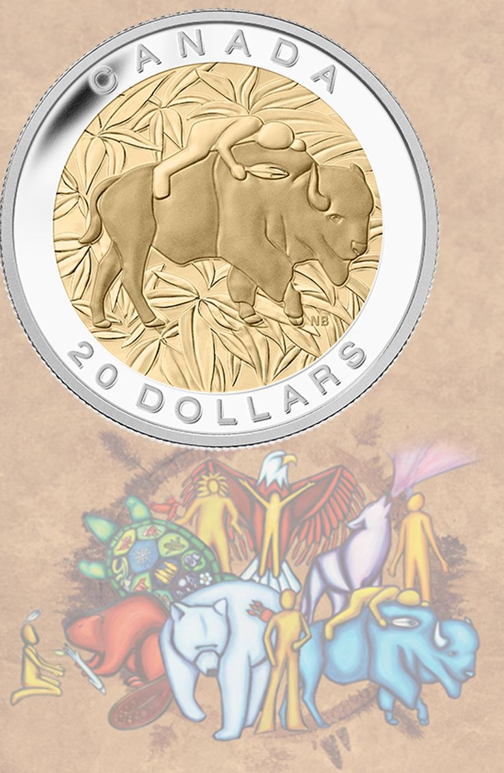 Fine Silver Coin - The Seven Sacred Teachings: Respect  Respect is one of the lessons in the Seven Sacred Teachings practiced by Aboriginal people throughout North America for a full and happy life.