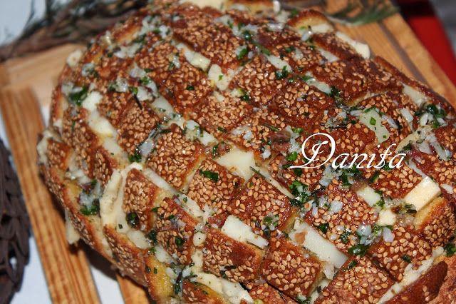 Le leccornie di Danita: Pane della convivialità!! Pagnotta condita