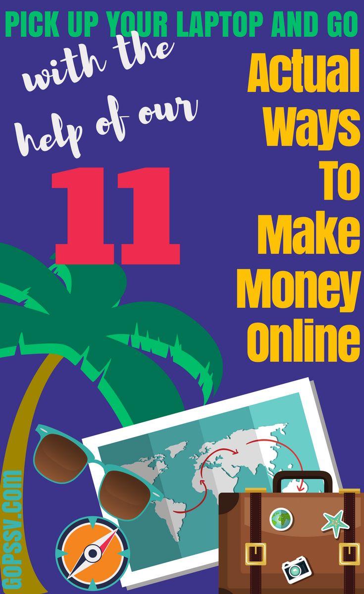 make money online, passive income, blogging, freelance, digital nomad, laptop lifestyle, side hustle #blogging #freelance #passiveincome #onlineincome #gopassive