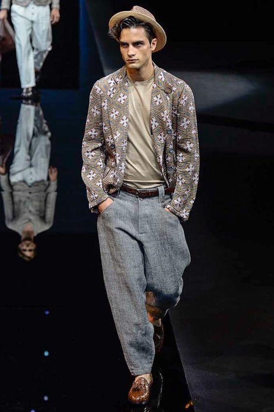 Giorgio Armani  SS 2017 Fashion show details & more