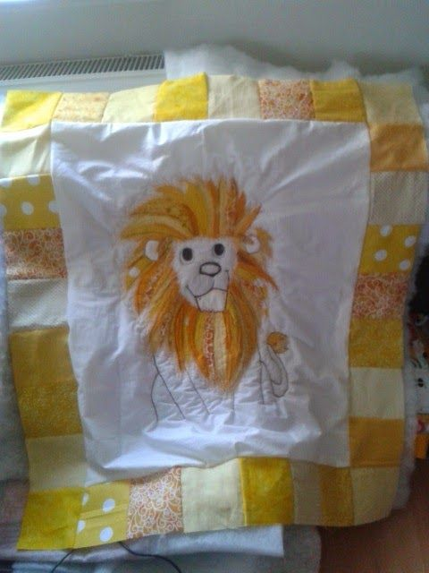 Sewing Lioness: LION QUILT part 2