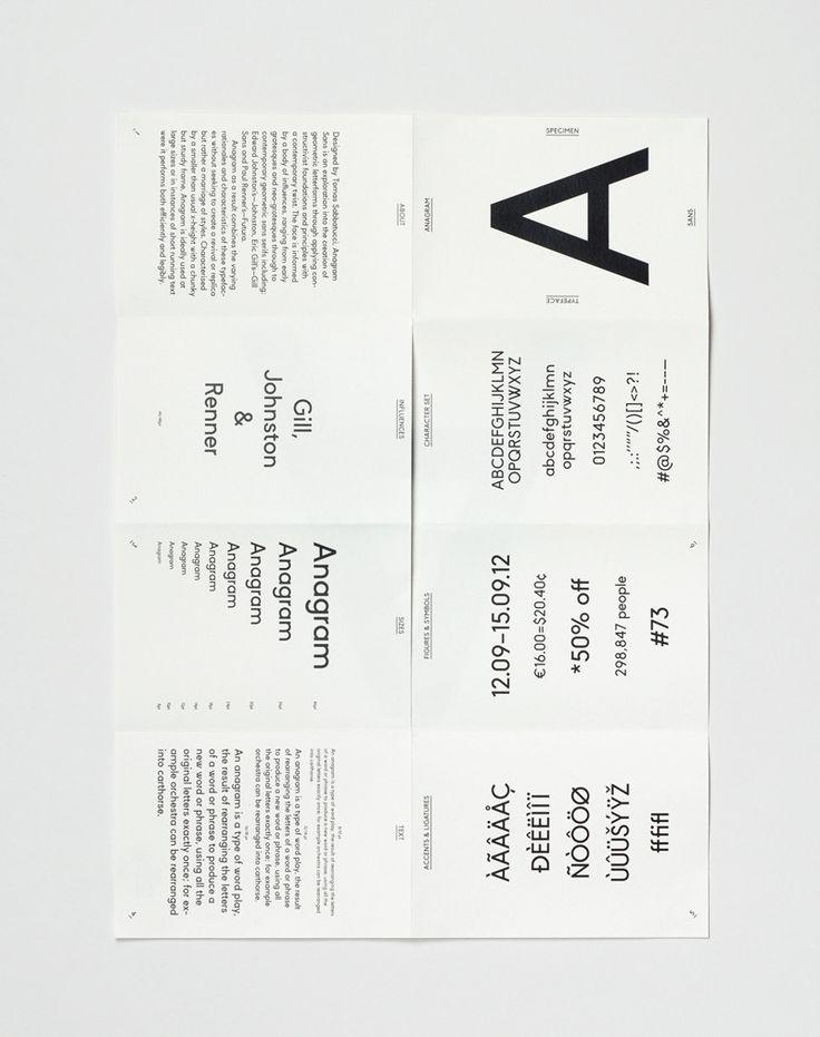 Anagram Sans — Tomas Sabbatucci
