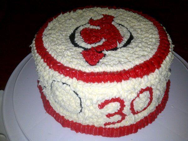 New Jersey Devils Cake