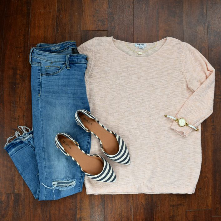 basic but love the combo of all three (+ the blush color with gold jewelry).