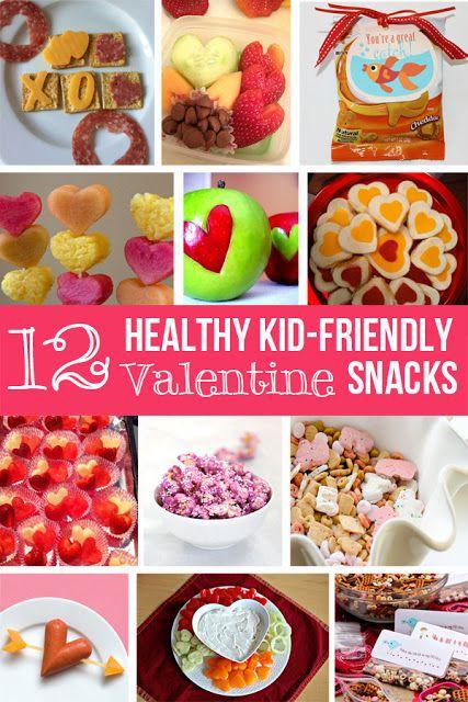 Happy organized life 12 valentine 39 s healthy snacks for for Kid friendly valentine recipes