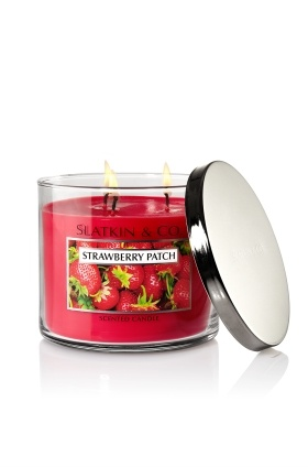 Slatkin & Co. Strawberry Patch Candle (From Bath and Body Works)