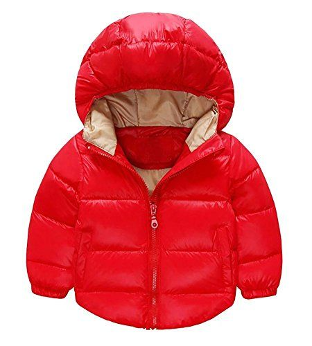 Toddler+Baby+Boys+Girls+Outerwear+Hooded+coats+Winter+Jacket+Kids+Clothes