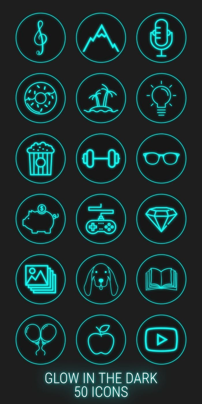 50 Neon Highlight Icons Blue Neon Instagram Story Highlight Icons Instagram Story Covers Instagram Stories Instagram Highlights Graphic Design Jobs Instagram Graphic Design Instagram Story