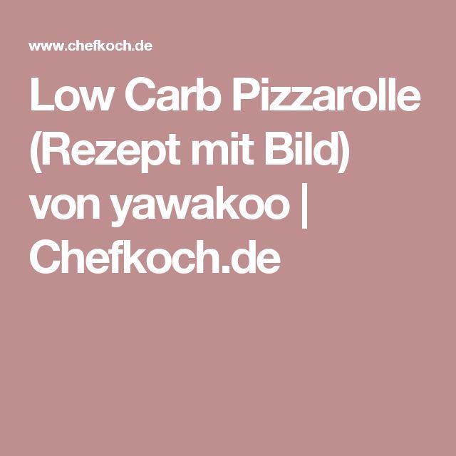 Low Carb Pizzarolle (Rezept mit Bild) von yawakoo | Chefkoch.de