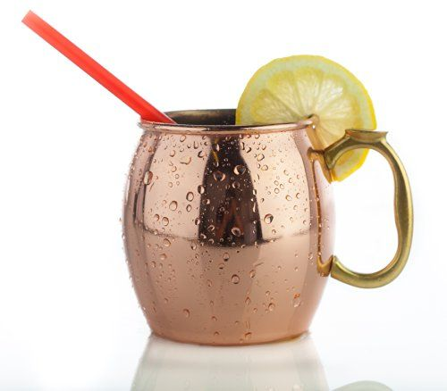 Makes your drink that much more refreshing. MKC 16 Ounce Moscow Mule Copper Mugs - Great for Your Own Moscow Mule Recipes - Copper Mule Mugs Make a Classy Gift for Family & Friends - Most Popular Copper Moscow Mule Mugs My Kitchen Concepts