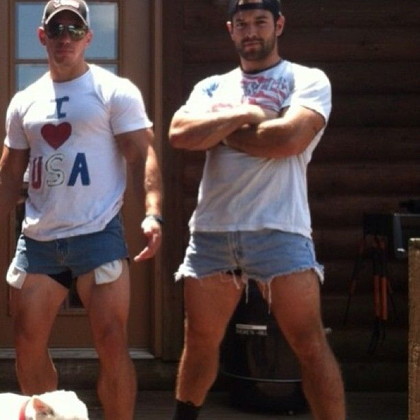 Just Dan Bailey and Rich Froning on the Fourth of July