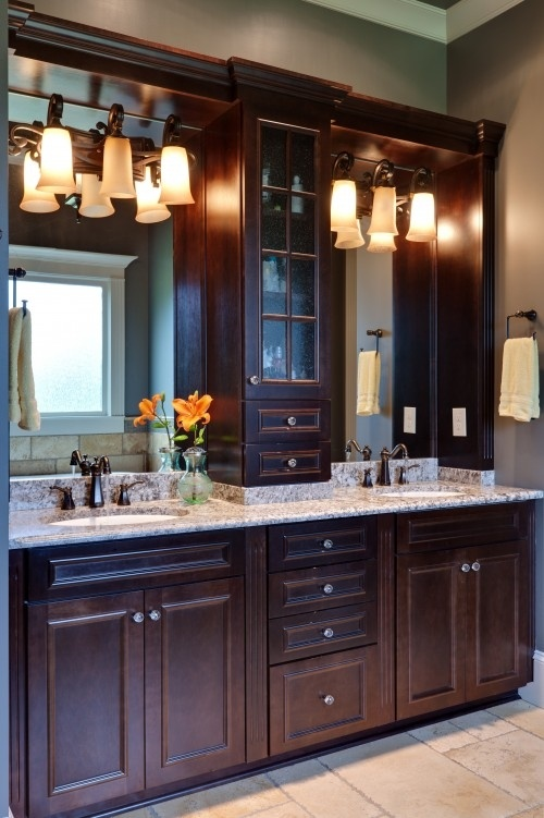 22 Best Master Bathroom Center Cabinets Images On Pinterest Bathroom Ideas Dream Bathrooms