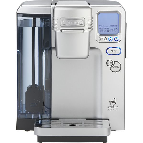 Wake up and smell the coffee with the Cuisinart single serve coffee maker, $200, Crate, 248.643.6610. This fully programmable coffee maker features adjustable temperature control, an extra large water reservoir and a 12-cup K-Cup variety starter pack.