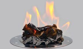 Техника сжигания проблем: Возьмите большой лист бумаги и напишите на нем все свои мысли и обиды, все то, что терзало многие годы. Не стесняйтесь в выражениях. Это ваши собственные мысли и от них у вас нет секретов и комплексов. Но не спешите его перечитывать. Вы должны сжечь этот лист. Вместе с ним сгорят прошлые обиды и неудачи, и вы быстро забудете прошлое. Поверьте, это действует на самом деле! Огонь сбросит камень с души,