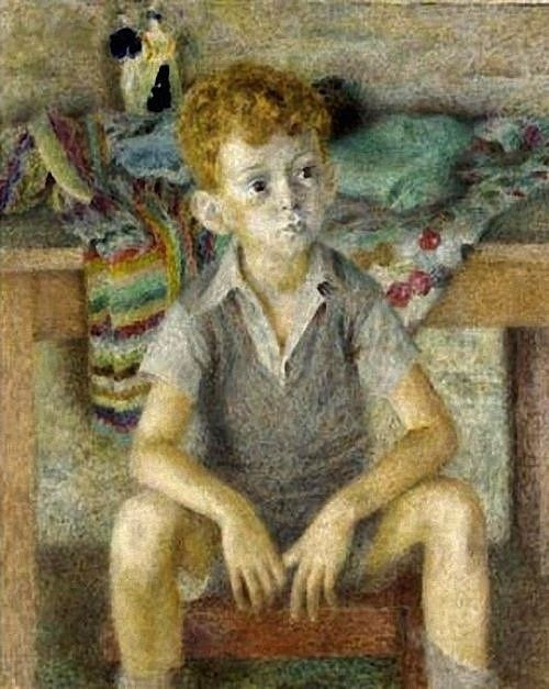 dod procter  | Dod Procter-Portrait of Boy. by BoFransson, via ... | Children in Art