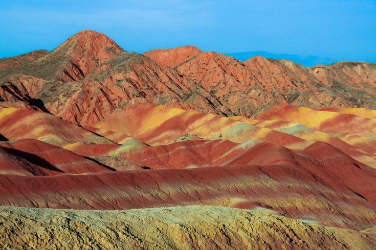 Montañas chinas de colores: Zhangye Danxia ~ Atlas of Wonders