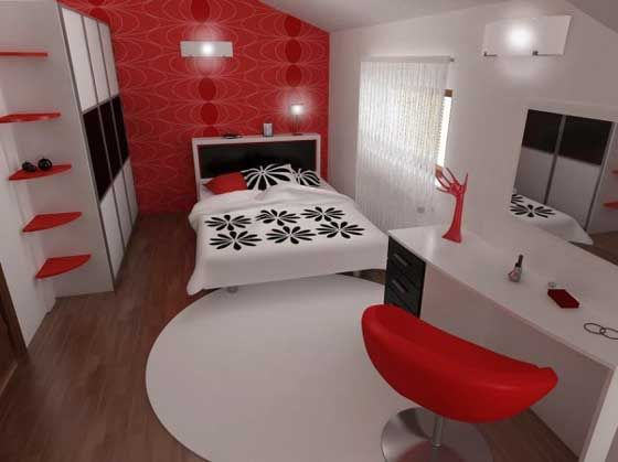 Black And White And Red Bedroom 198 best black & white & red all over images on pinterest | black