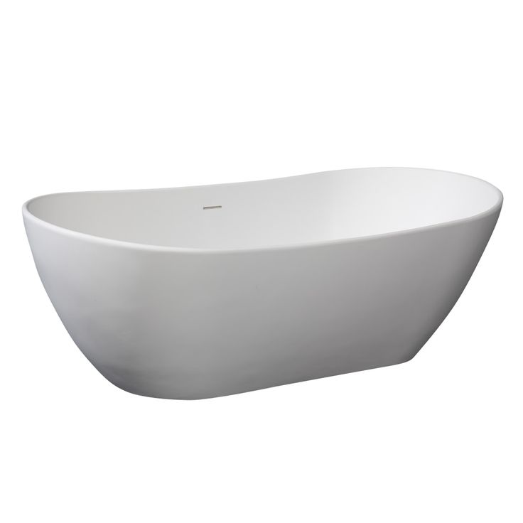 Beston Bath Tub-2 Freestanding Matte Finish Bathroom Bathtub Soaking Spa Tub