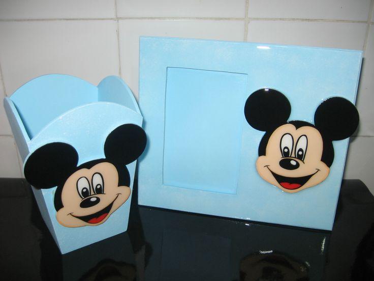 Dulcero y retratera de Mickey Mouse
